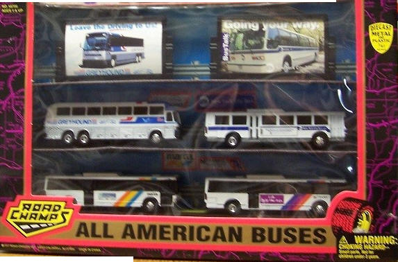 Road Champs All American Bus Set